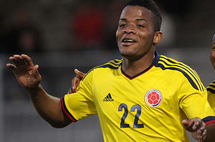 Olympics: Injury Knocks Colombia's Star Striker Out Of Nigeria Clash