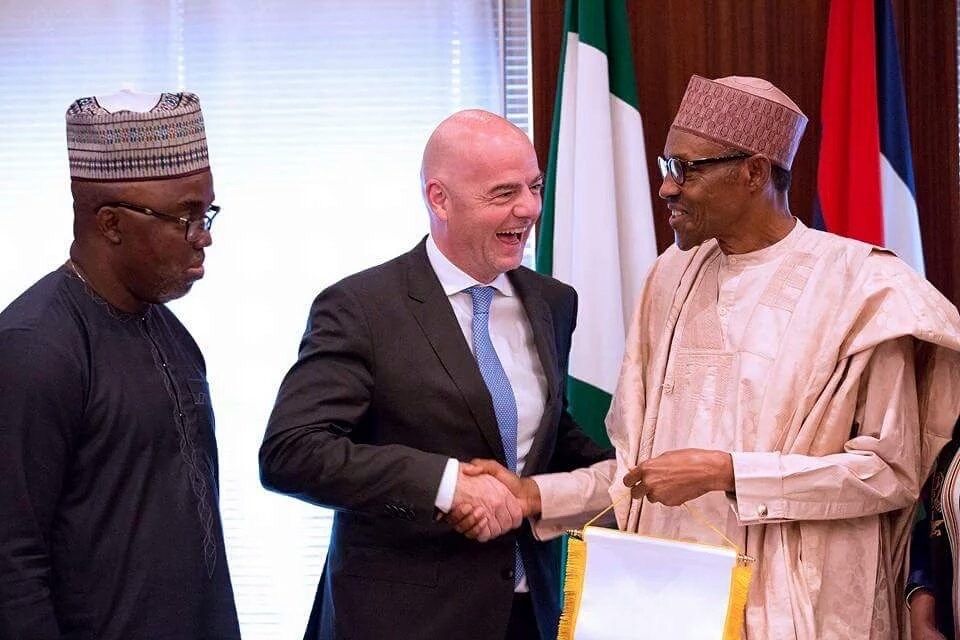 Infantino: I See Bright Future For Nigerian Football