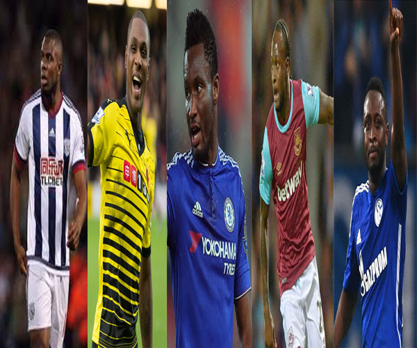 ON THE MOVE: 10 Super Eagles Set For 2016/2017 European Transfers