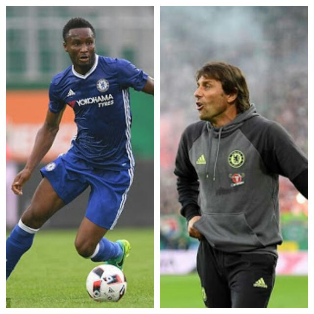 "Conte ""Orders"" Risk-Taking Mikel To Win Gold In Rio"