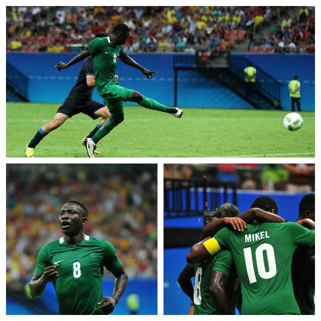 Etebo Grabs Four Goals As Olympic Eagles Beat Japan In Thriller