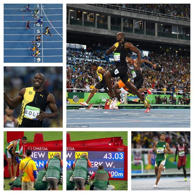 Bolt Wins 100m Gold, S/Africa's Van Niekerk Breaks 400m World Record