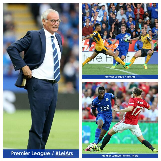 Ranieri Backs Musa, Vardy Strike Partnership For Leicester