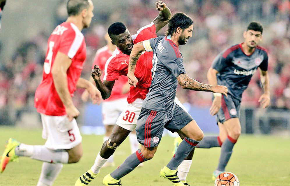 Ogu Dedicates Win Against Olympiakos To Be'er Sheva Fans
