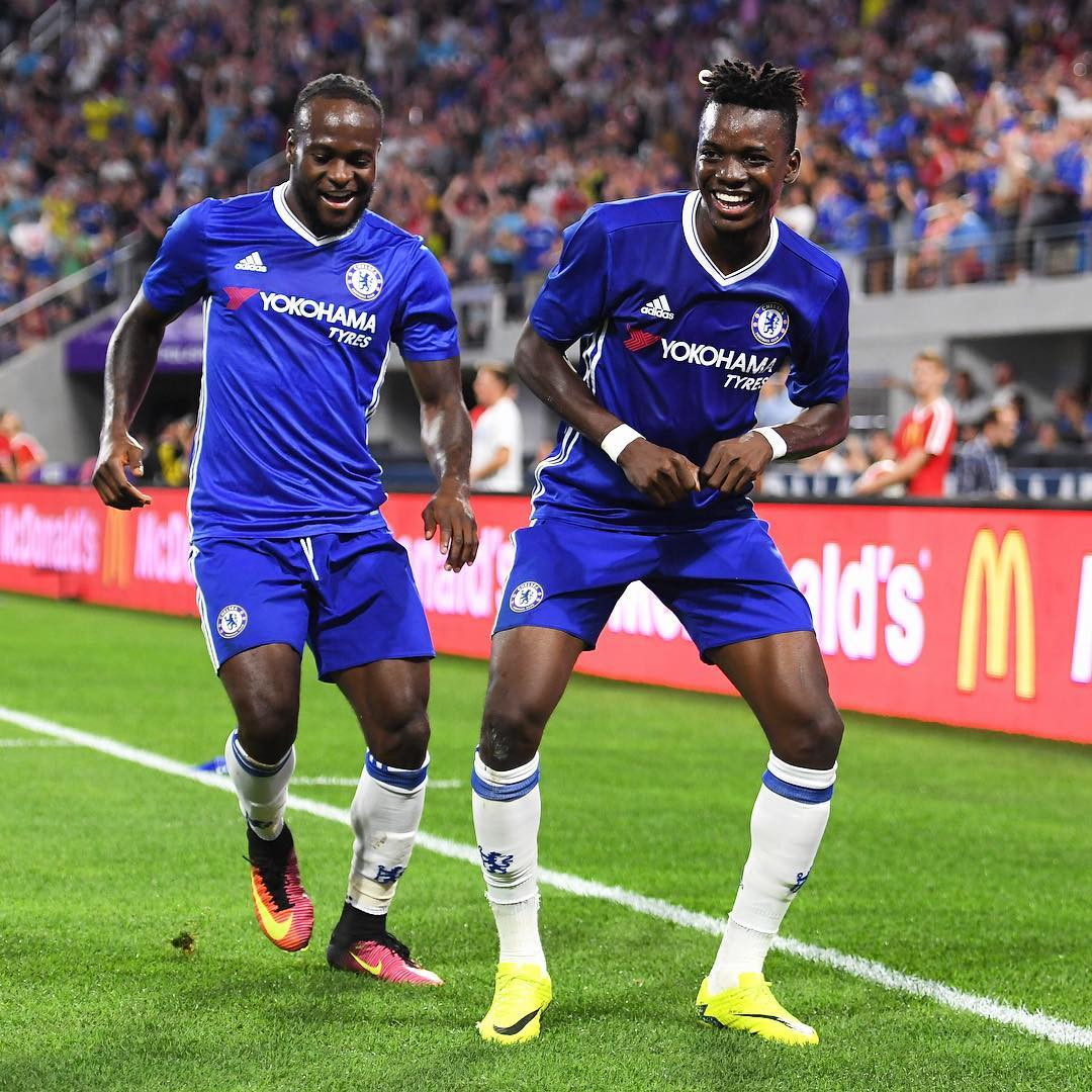 Moses Gets New Jersey No.15 At Chelsea