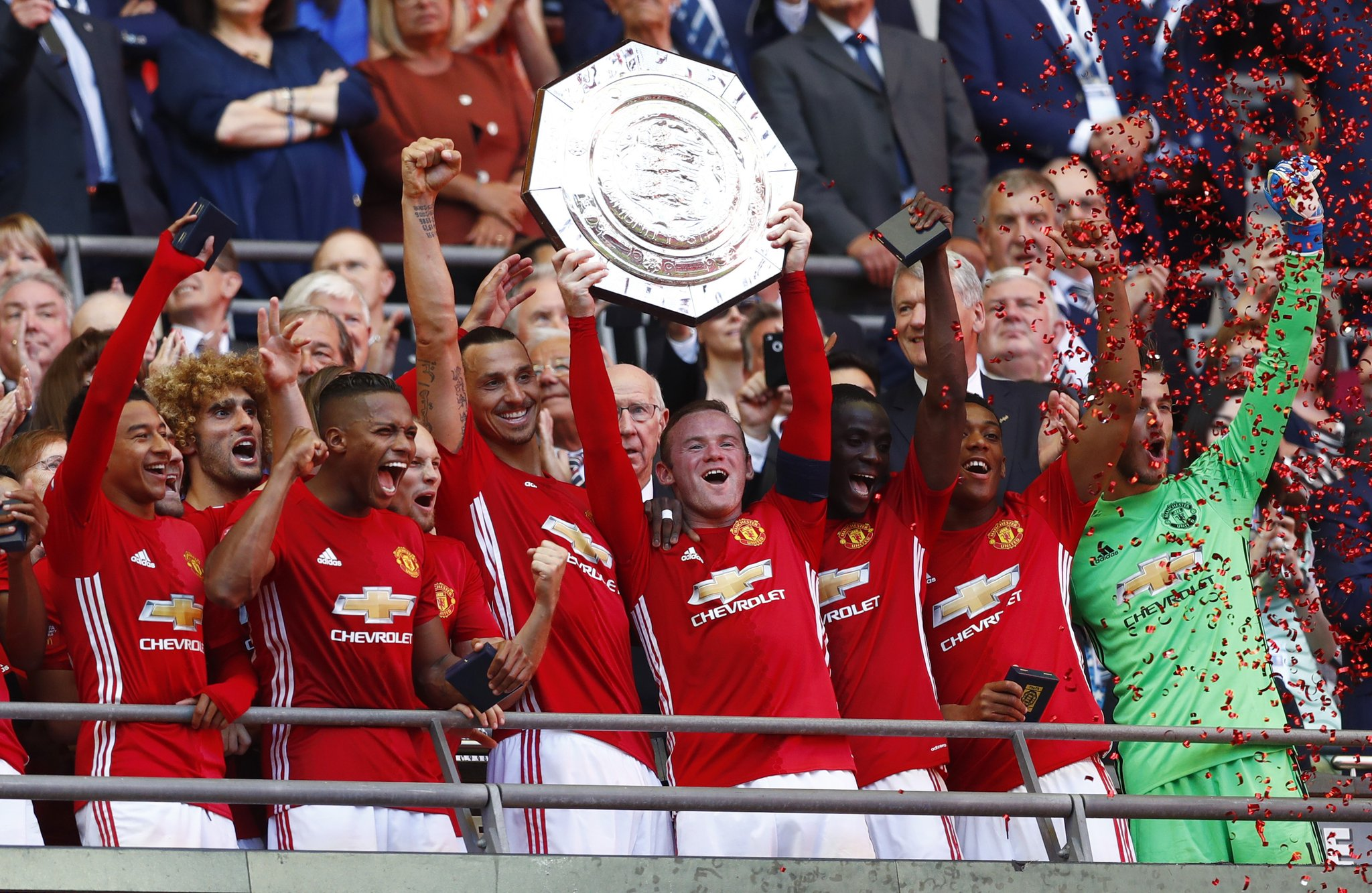 Community Shield: Musa Impresses As Zlatan Bags United Winner