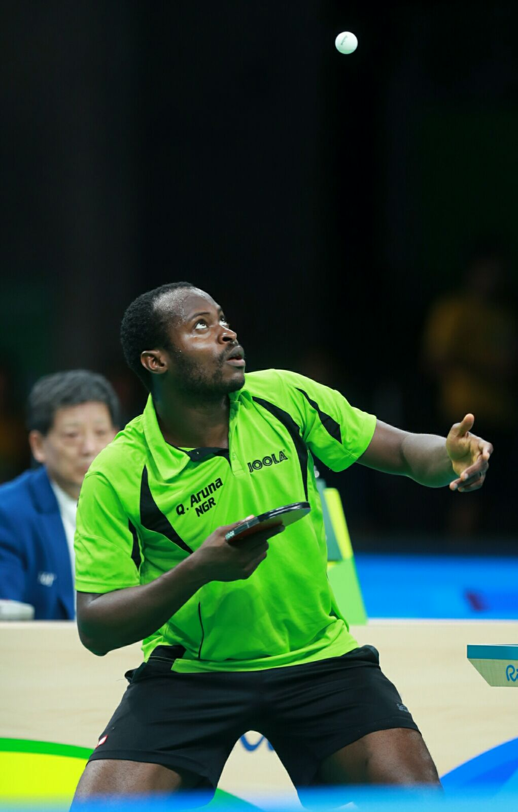 Rio Table Tennis: World No.1 Long Knocks Out Nigeria's Quadri