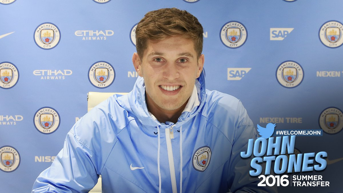 Man City Sign £50m Stones From Everton