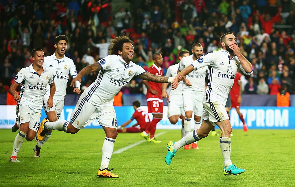 Real Madrid Outscore 10-Man Sevilla To Claim UEFA Super Cup