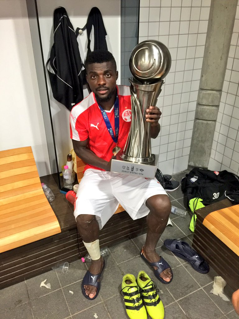 Ogu, Nwakaeme Celebrate Isreali Super Cup Win