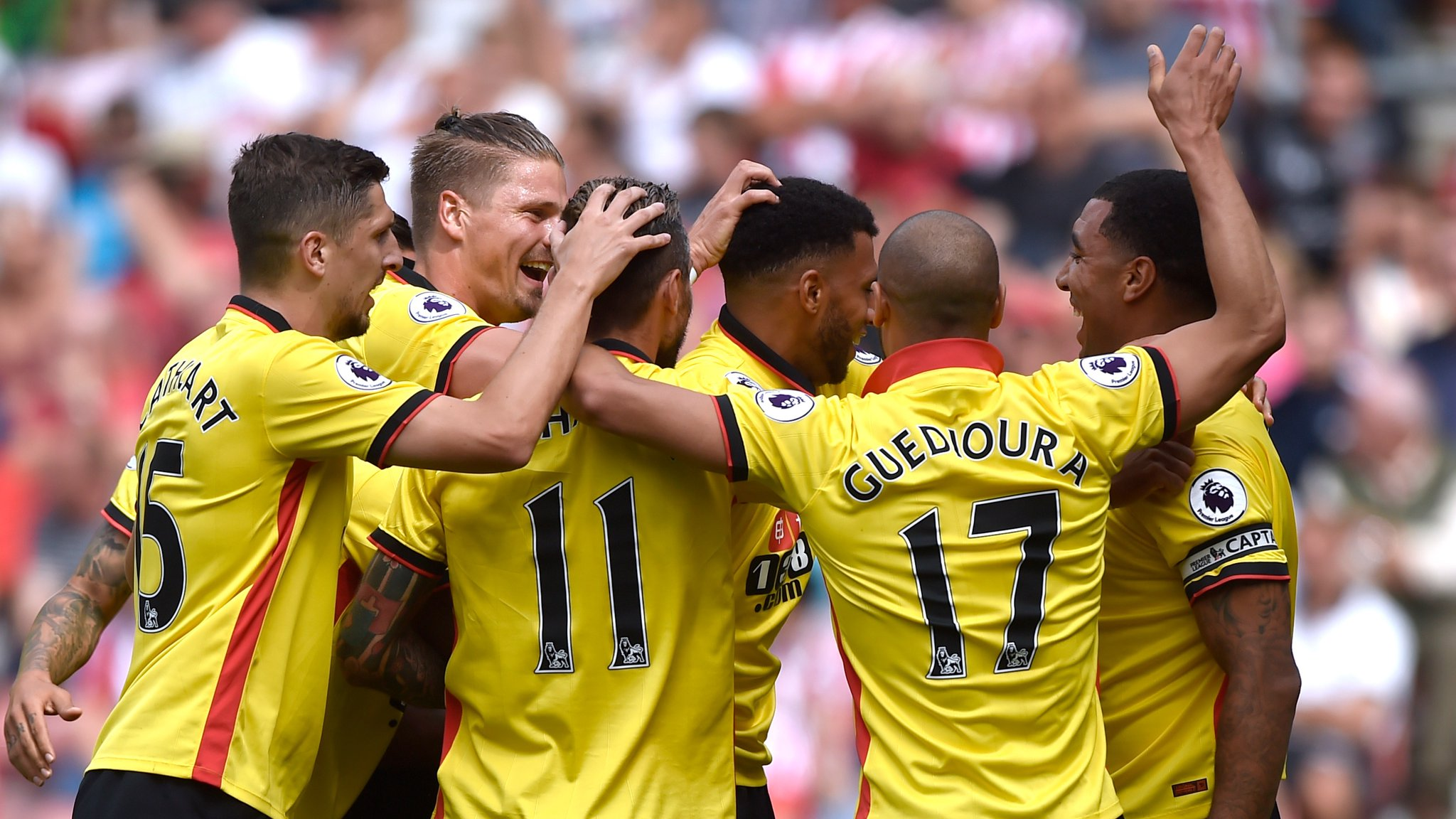 Ighalo Subbed Off As 10-Man Watford Hold Southampton