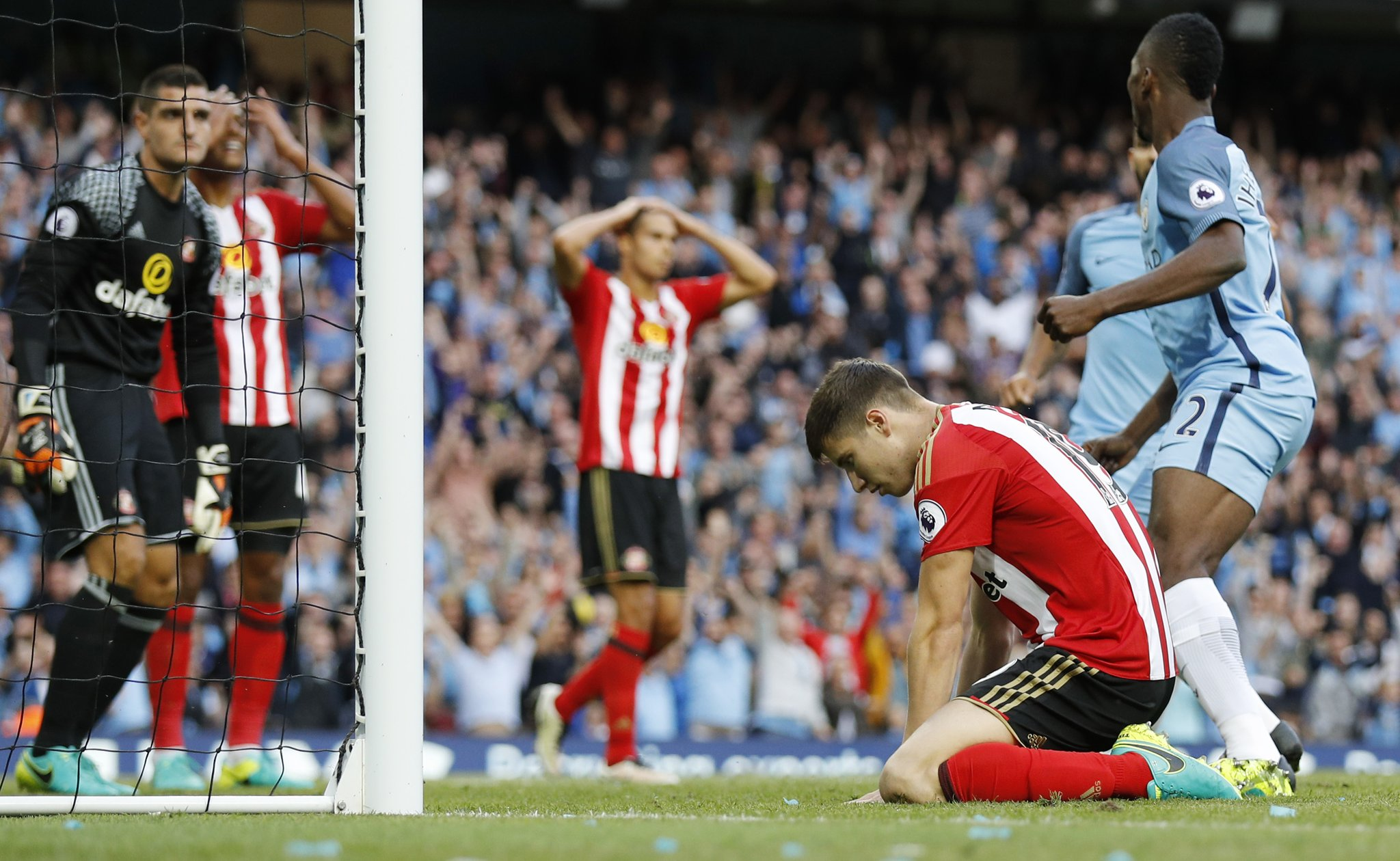 Iheanacho On Late As City Outscore Stubborn Sunderland