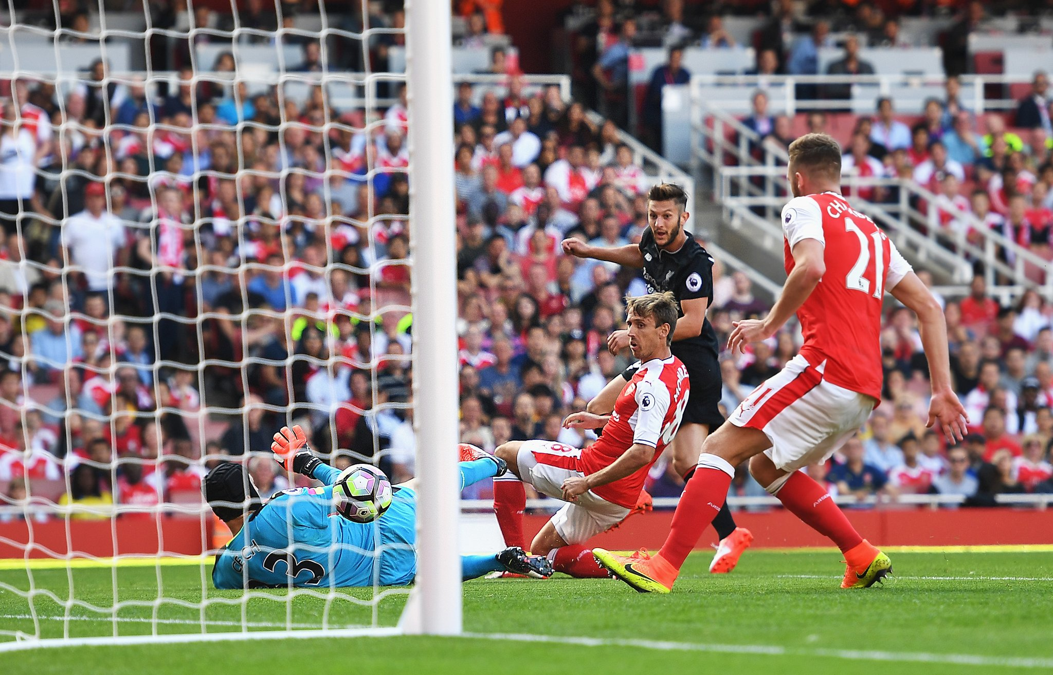 Iwobi Assist Not Enough As Liverpool Edge Arsenal In Thriller