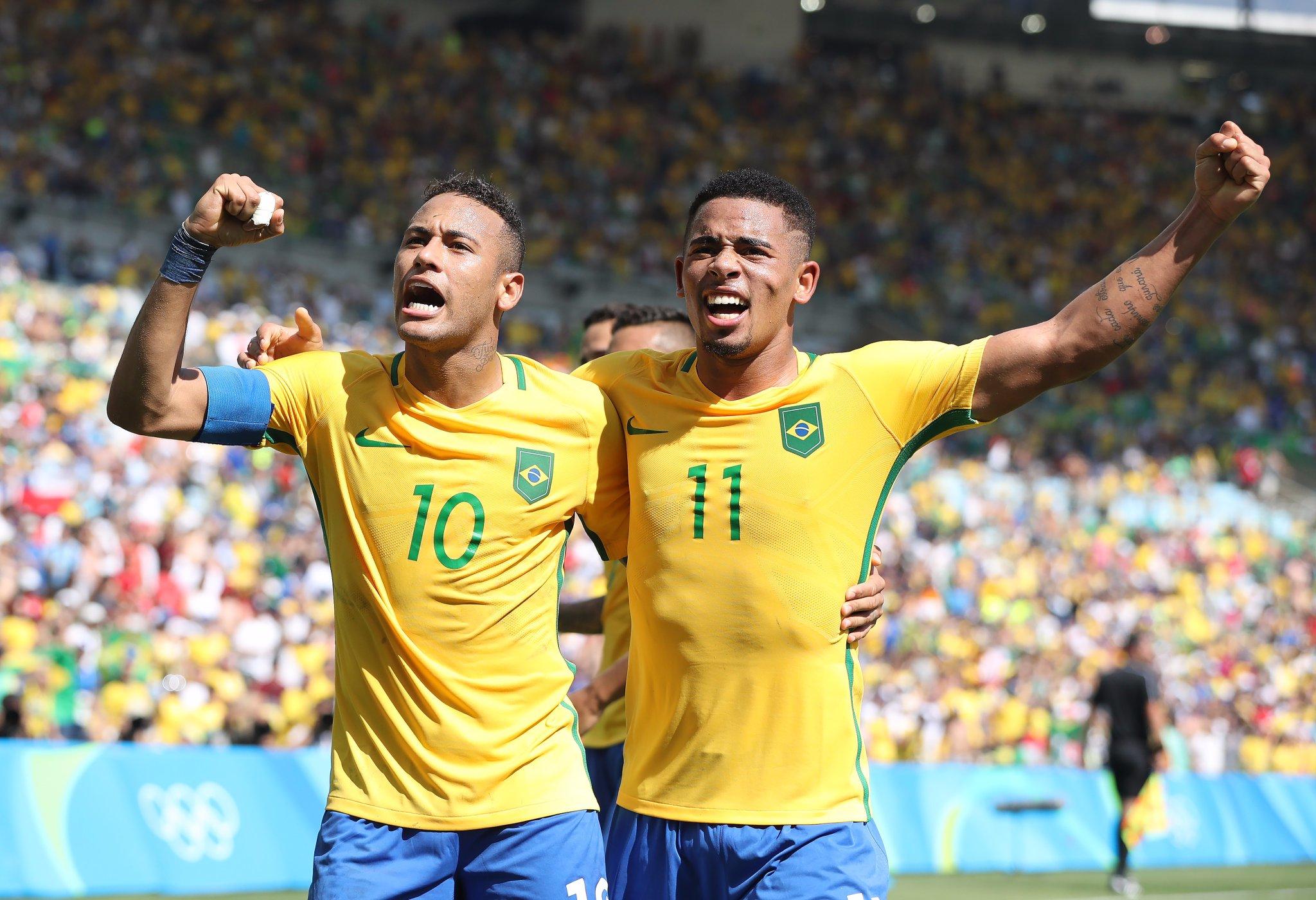 Neymar Scores As Brazil Crush Honduras, Qualify For Fourth Olympic Final