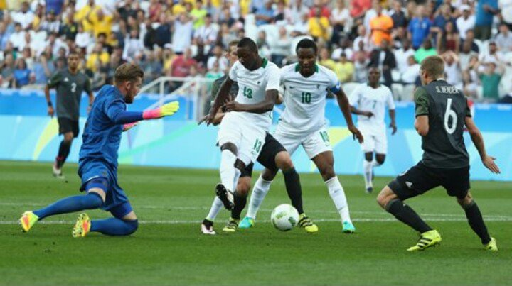 How Olympic Eagles Rated Vs Germany