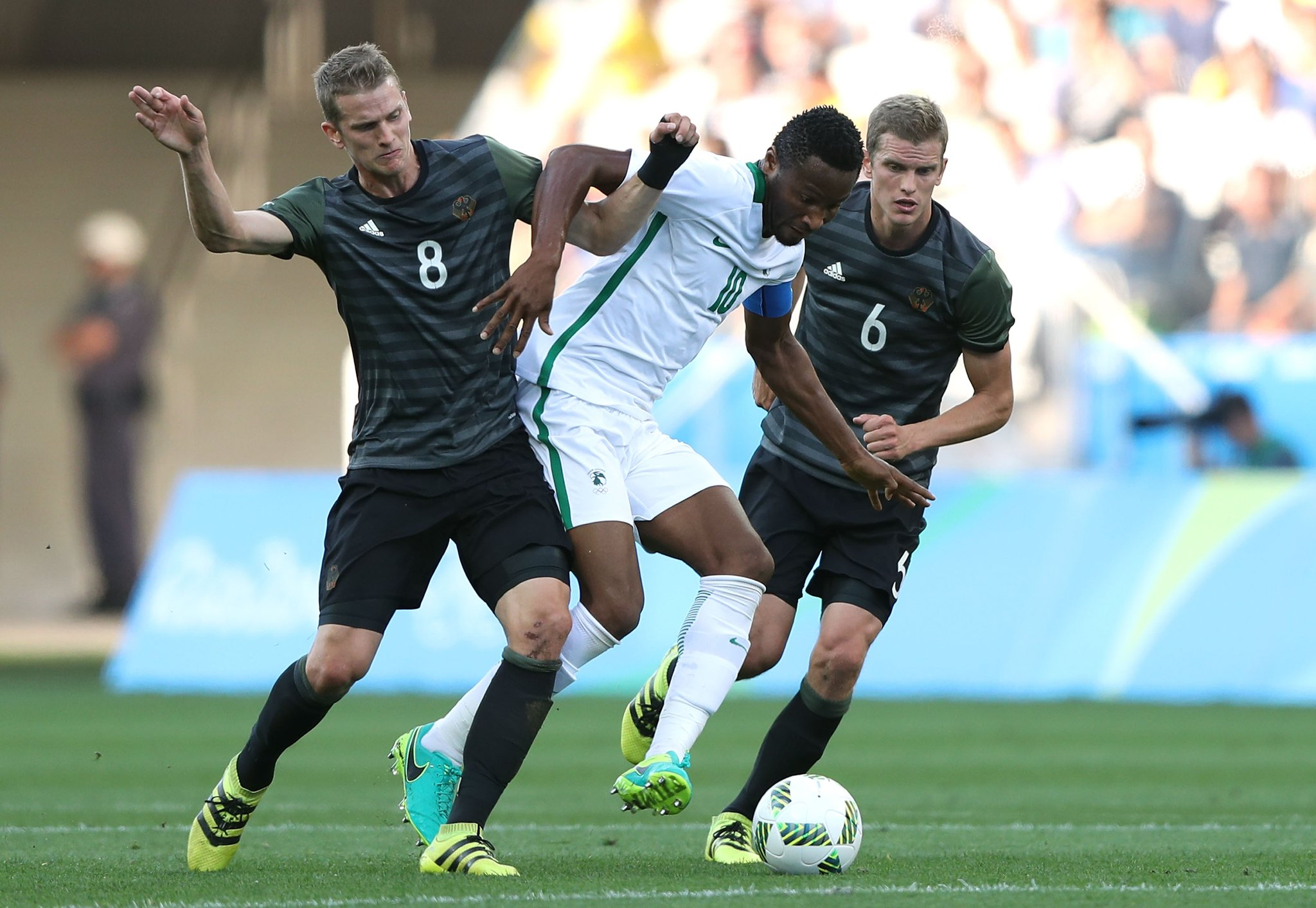 "Mikel Blames ""Luck"" For Olympic Eagles Loss To Germany, Targets Bronze"