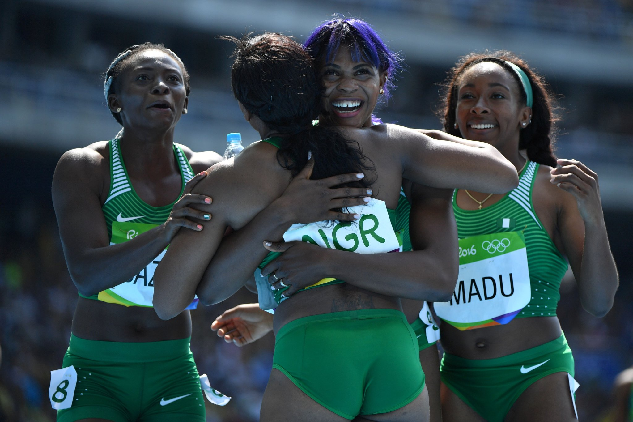 Okagbare Leads Nigeria Into 4x100m Final As Mozia Disappoints Again
