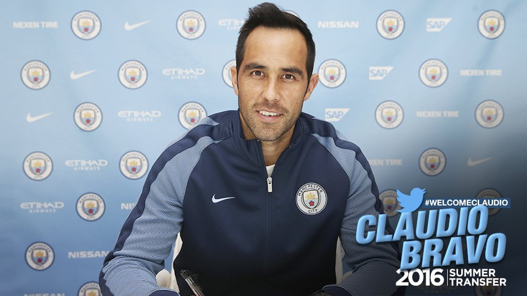 Man City Confirm Bravo Signing