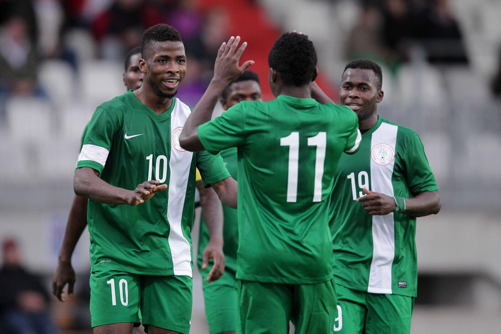 Iheanacho Honoured To Play For Nigeria; Simon, Madu Expected In Uyo