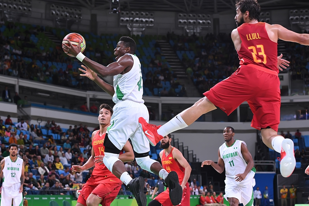 Brave D'Tigers Lose To World No.2 Spain In Rio Basketball