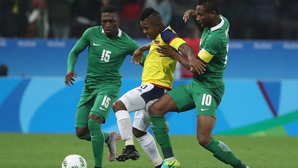 Report Sheet: How Olympic Eagles Rated Vs Colombia