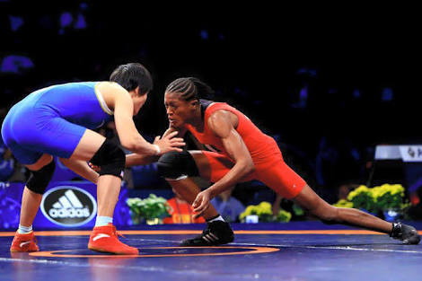 Nigeria's Oborududu, Adekuoroye Beaten In Women's Wrestling