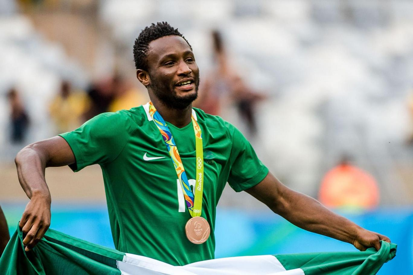 "Mikel Teases ""Jealous"" Chelsea Mates Over Rio Bronze, Wants Tokyo 2020 Action"
