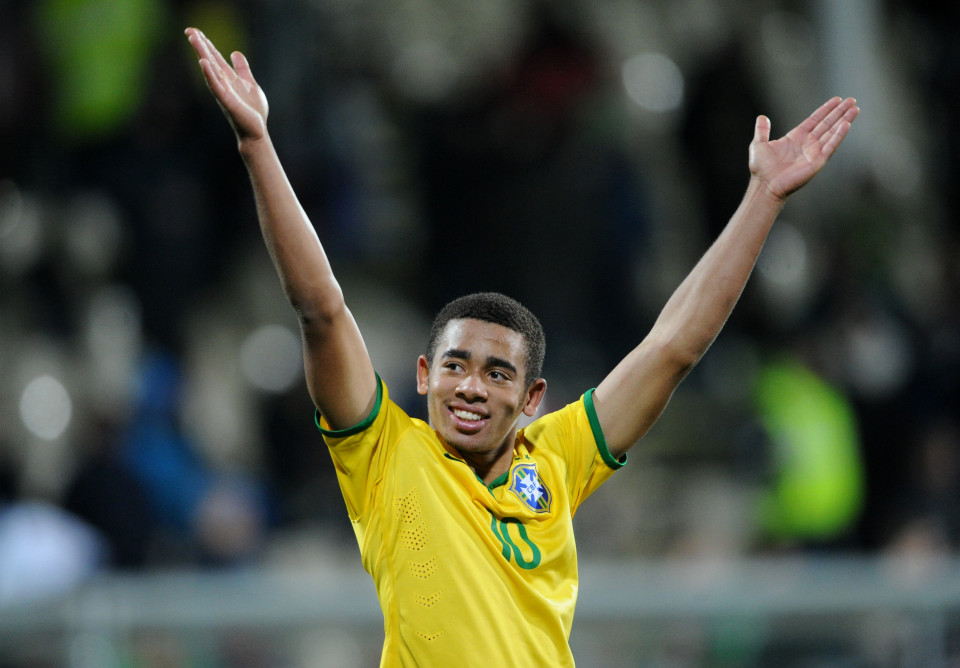 Another Iheanacho Rival, Gabriel Jesus, Joins Man City