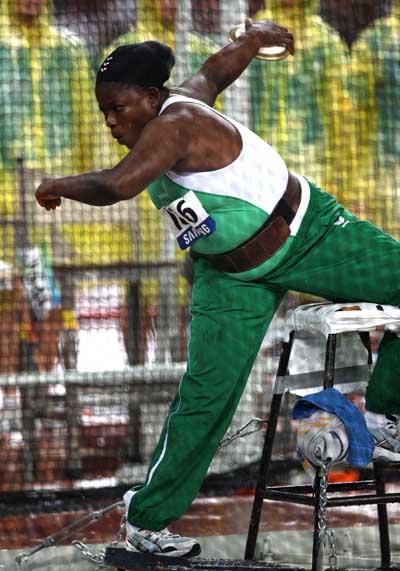 Nigeria's Iyiazi Wins Discus Bronze At Rio Paralympics