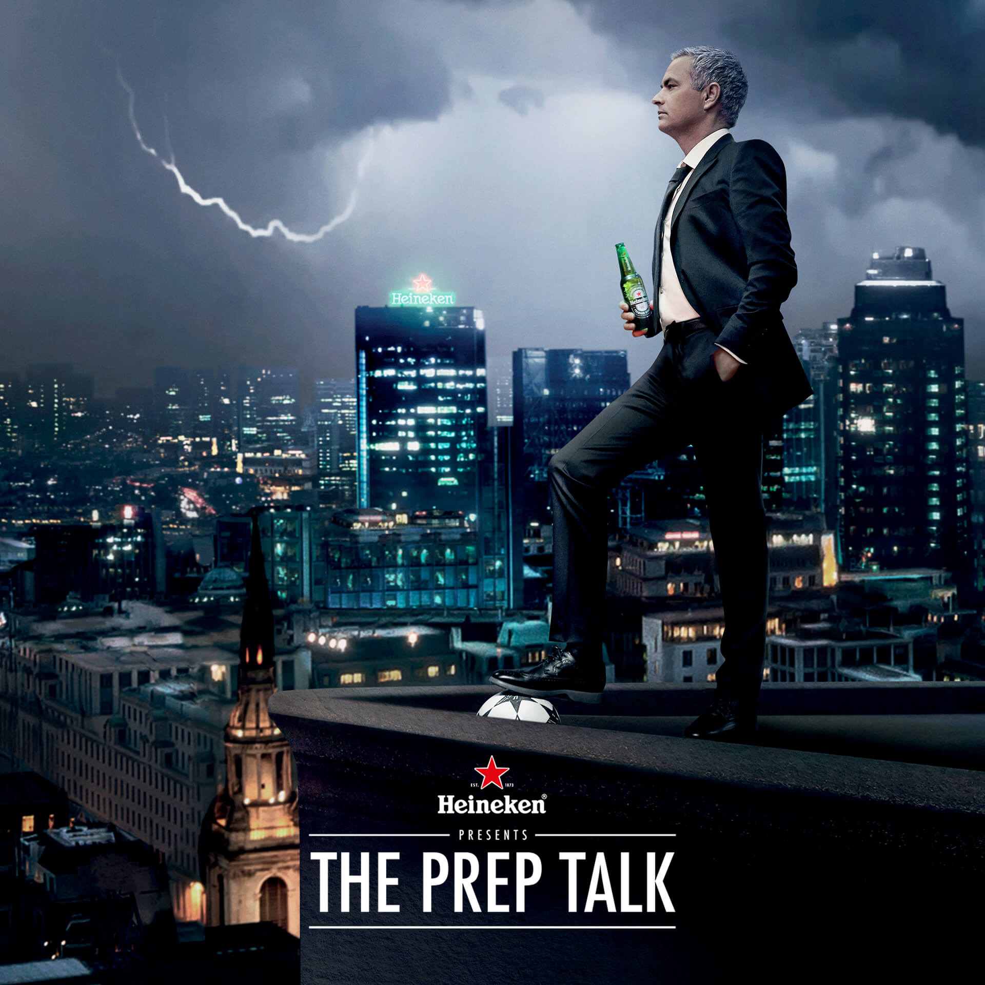 Heineken® Launches New UEFA Champions League Campaign,  Starring Jose Mourinho