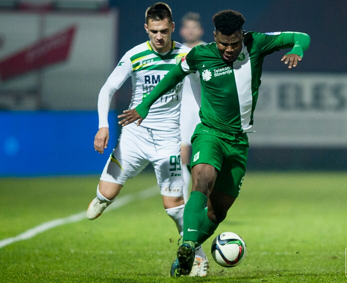 Blessing Eleke On Target In Olimpija Cup Win