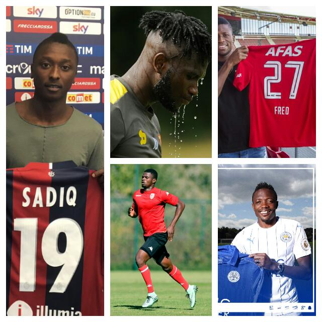MOVERS & SHAKERS: 10 Top Nigerian Transfers In 2016/17 European Window