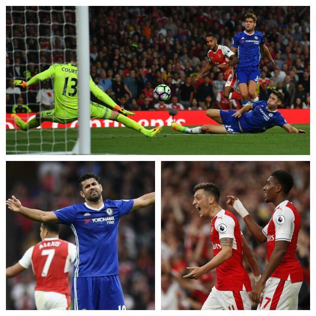 Iwobi Sparkles As Arsenal Thrash Chelsea To End Streak