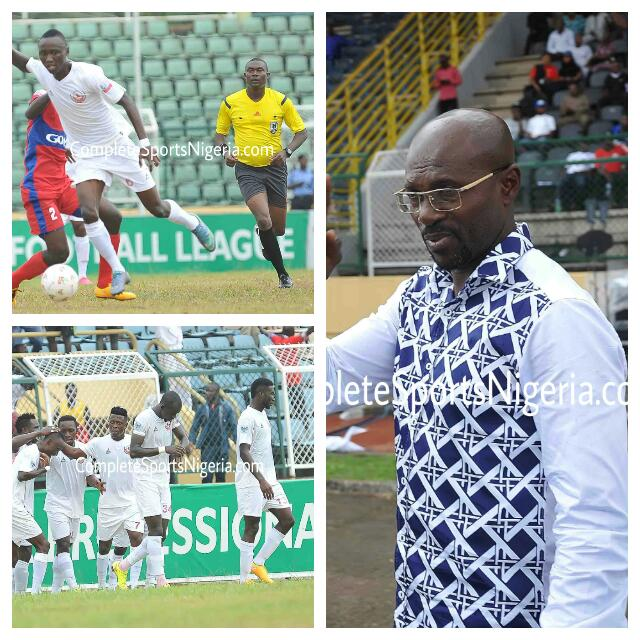Imama Hails Players, Says Rangers Not NPFL Champions Yet