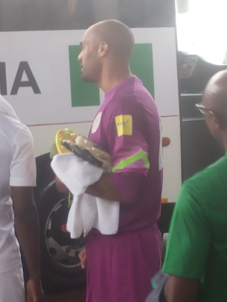 Ikeme Finally Arrives At Eagles Camp, Madu Expected