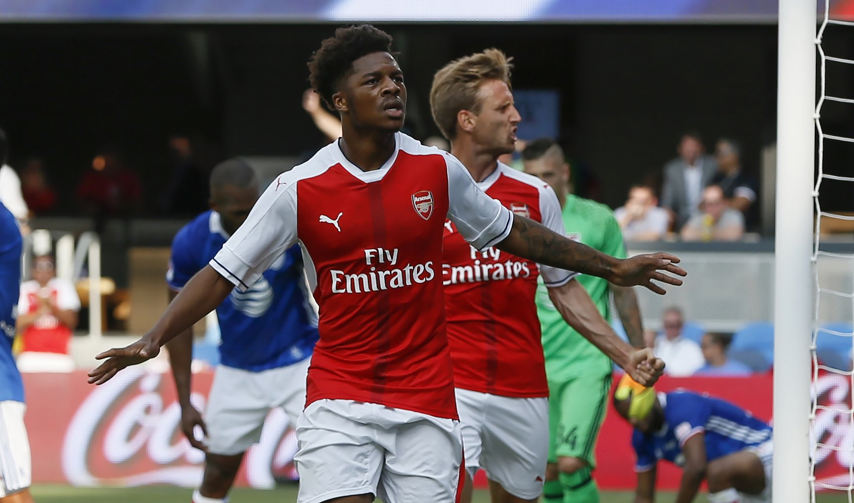 Akpom Replaces Solanke In England U-21 Squad