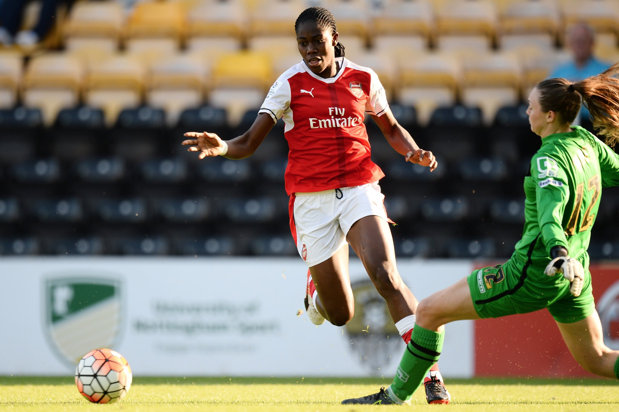 Oshoala Impressive But Arsenal Fall To Man City