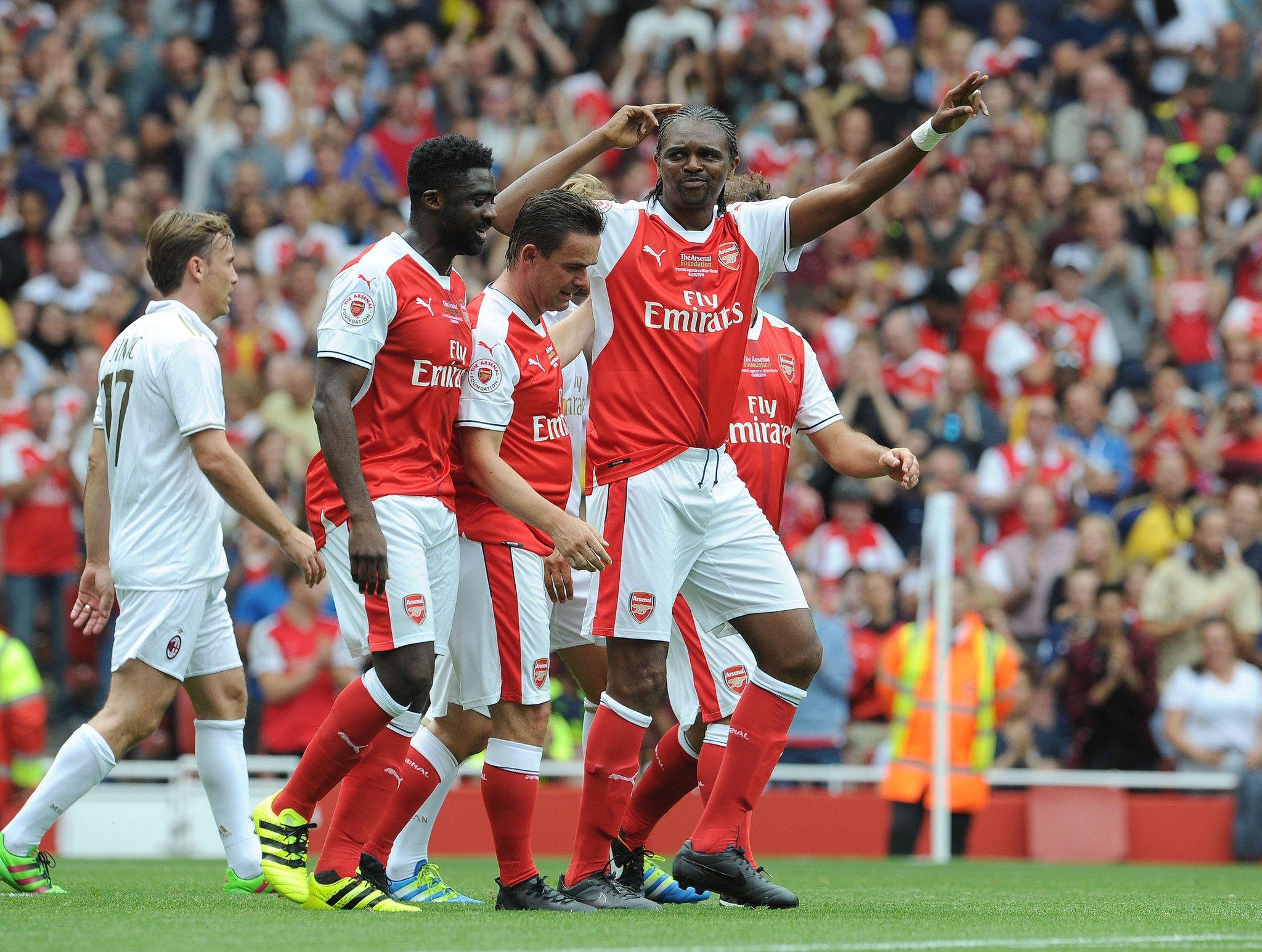Wenger Praises Kanu, Ikpeba, Toure For Impact On His Career
