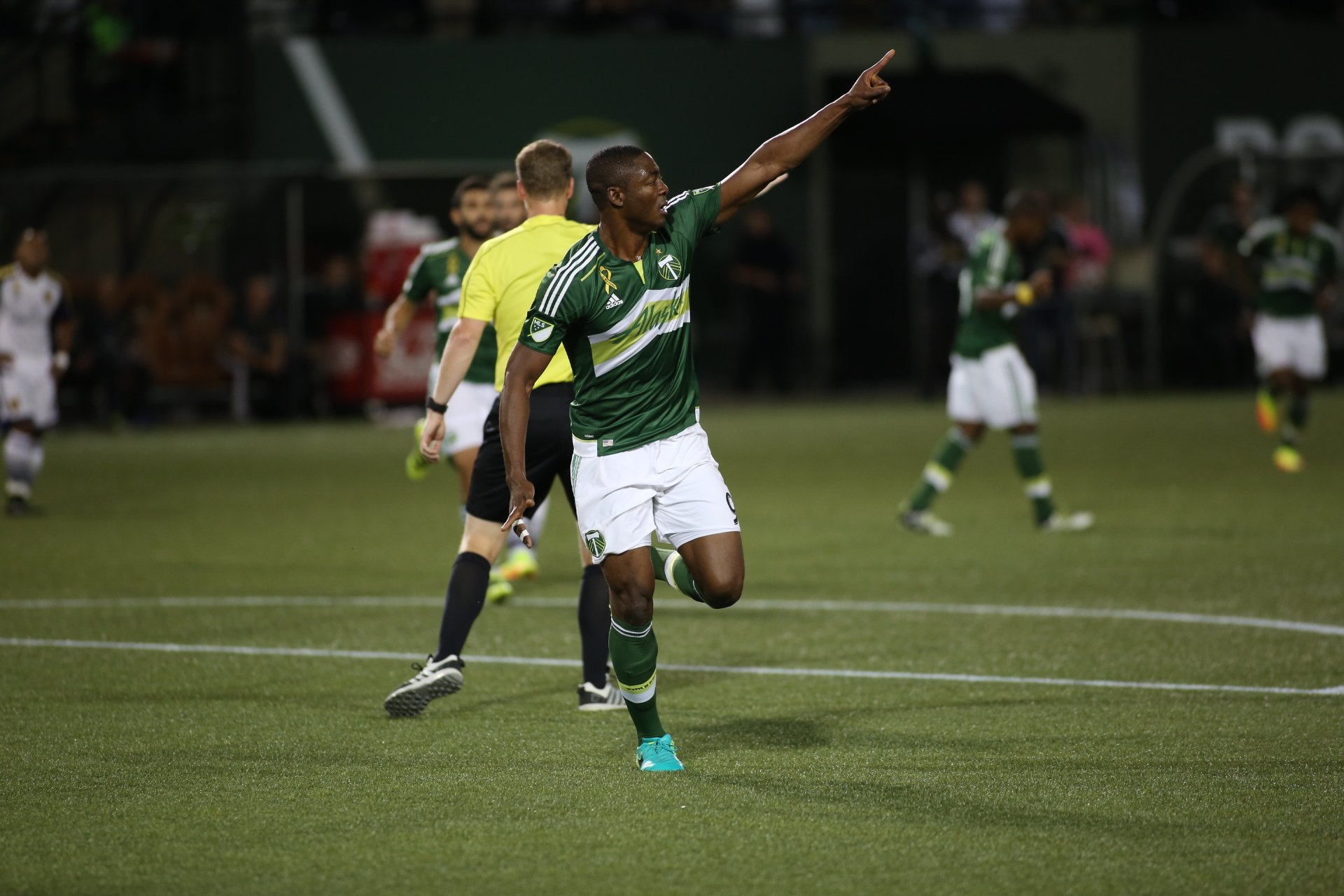 Fanendo Adi Nets Goal No.15 For Portland Timbers