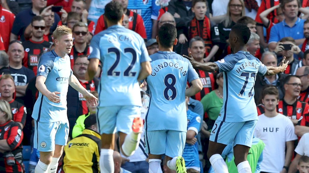 Iheanacho In Man City Squad For Celtic Clash