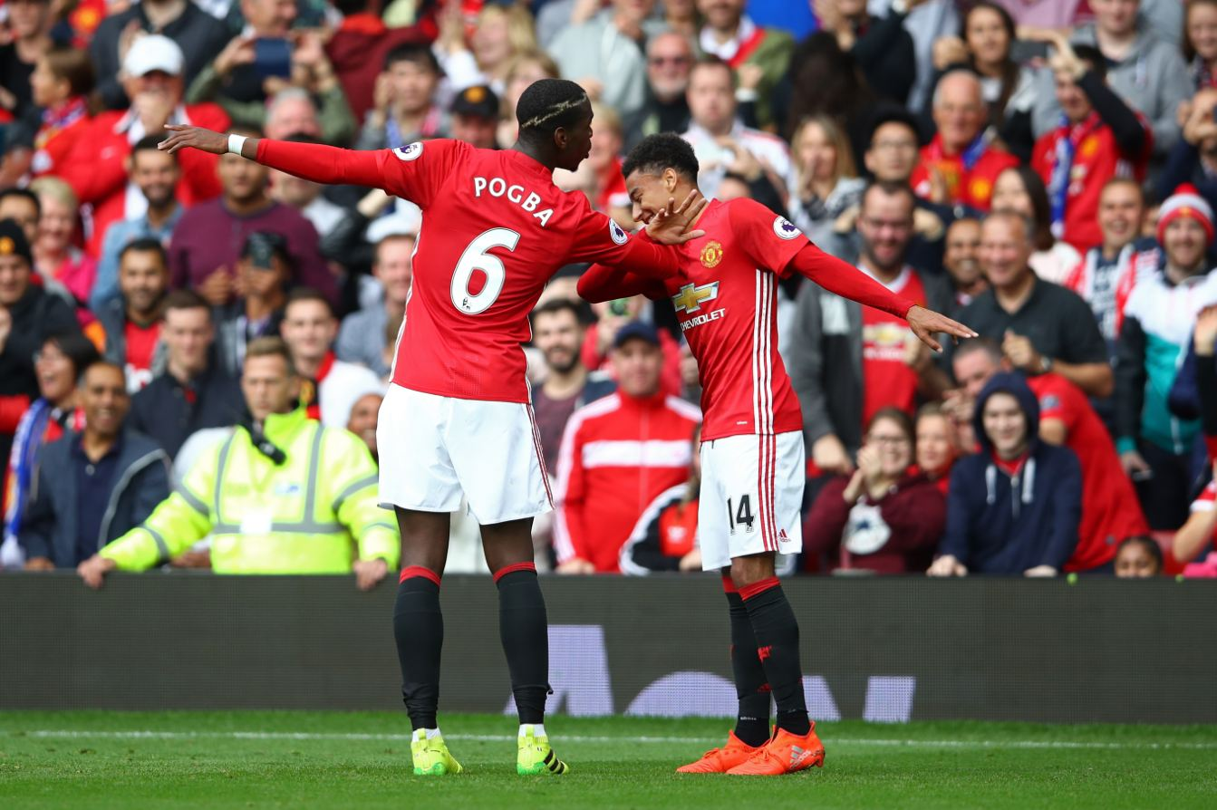 Musa Dropped, Pogba Scores First EPL Goal As Man United Rout Leicester