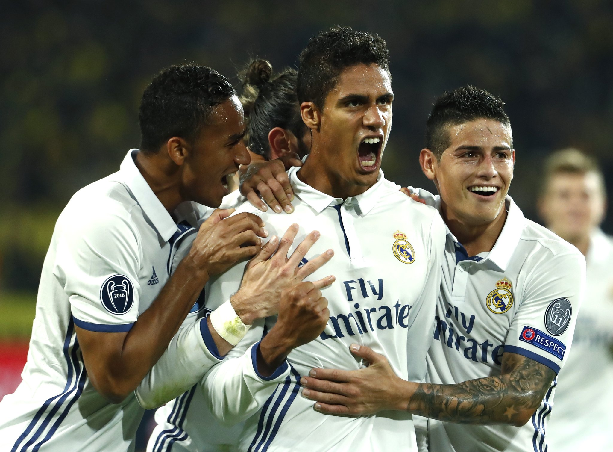 UCL: Dortmund Hold Madrid, Leicester Edge Porto, Spurs Win