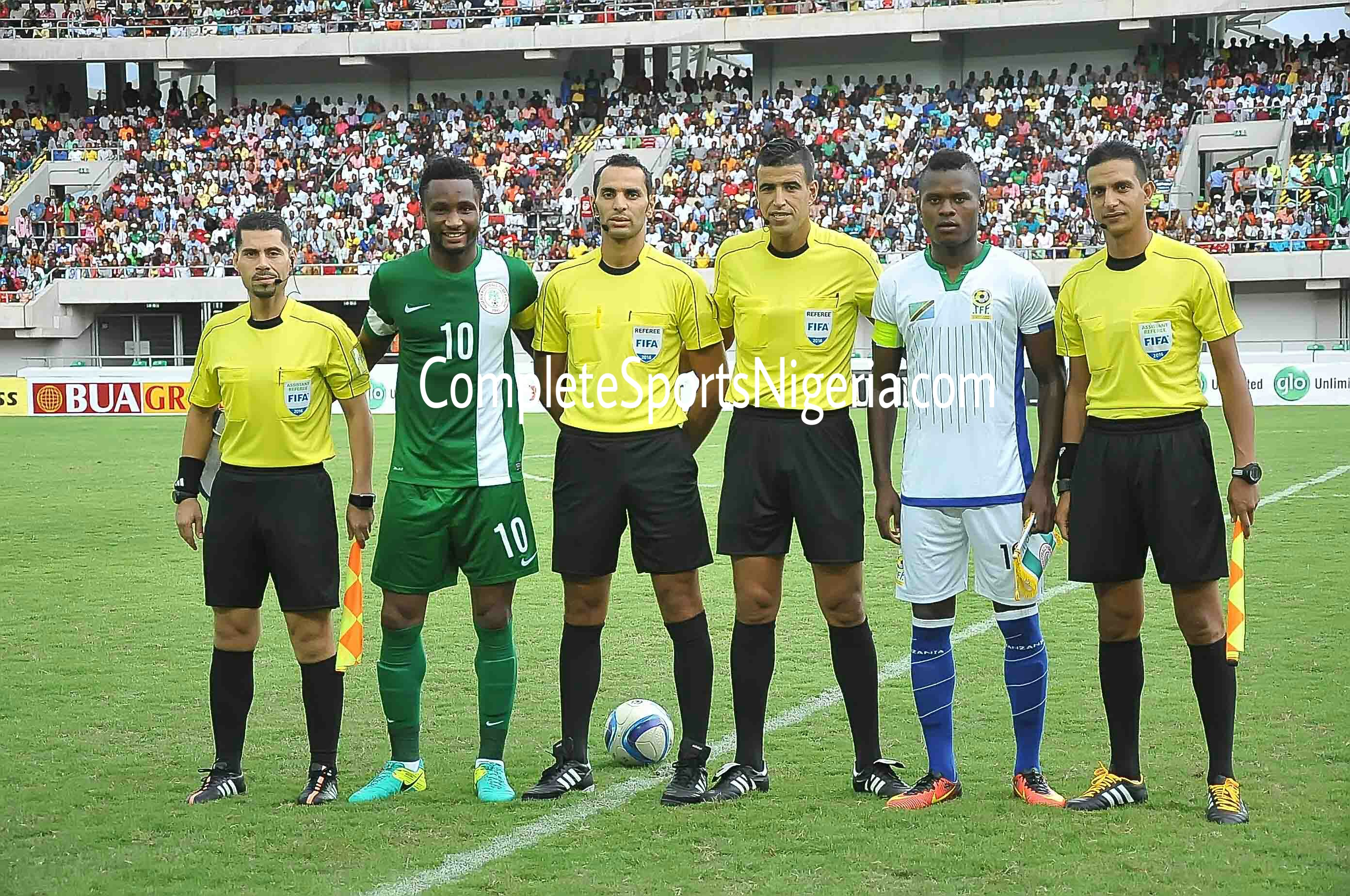 Tanzania Captain Proud Of Performance Vs Nigeria, Unhappy With Ref