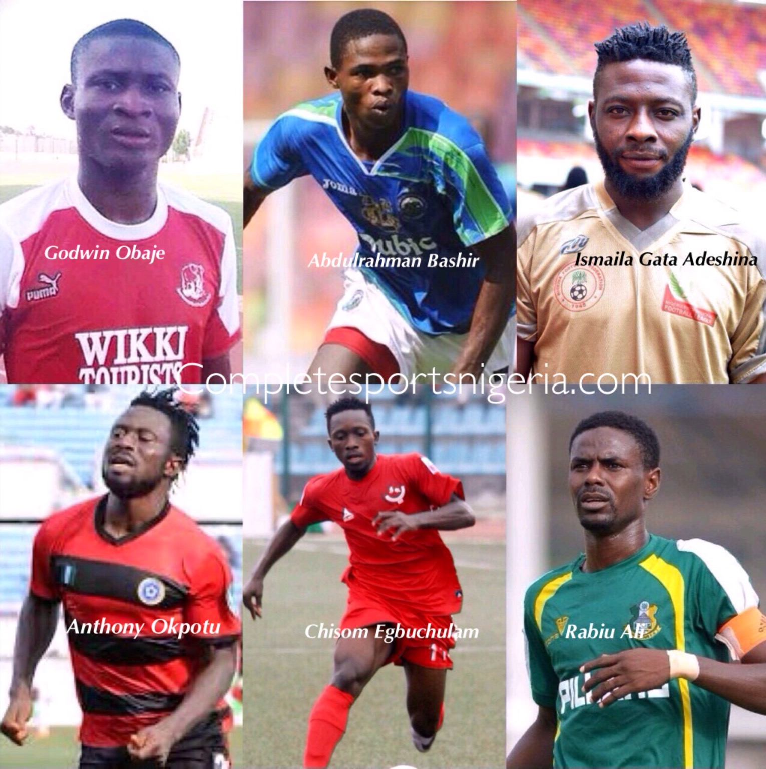 SIX SERIAL SHOOTERS! Expose On The NPFL Top Marksmen‎