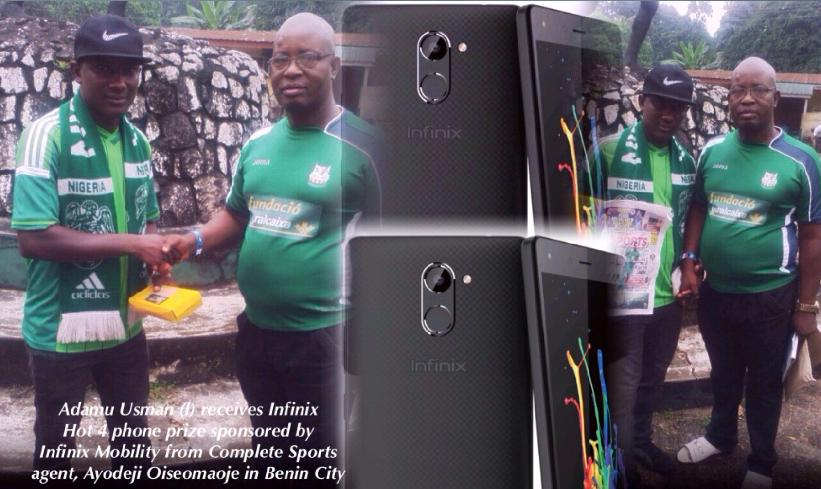 Infinix Hot Match: Auchi-Based Winner Receives Infinix Hot 4 Prize