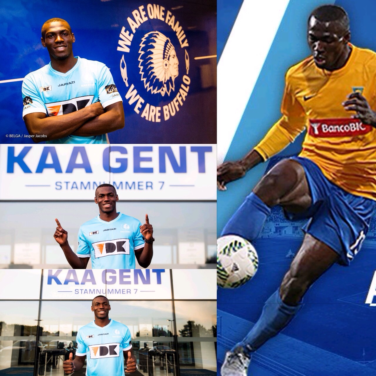 Esiti Teams Up With Simon, Ibrahim At KAA Gent