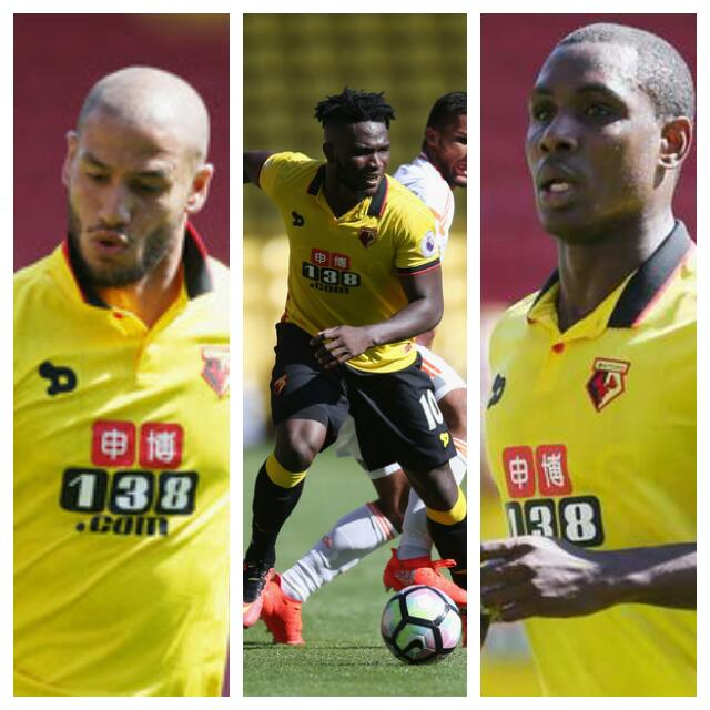 Watford's Algeria Star Guedioura: Ighalo, Success Now My 'Enemies'