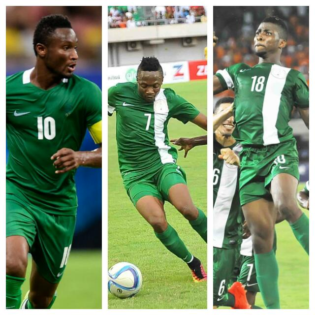 Mikel Celebrates Iheanacho, Musa's CAF Player Of The Year Nominations