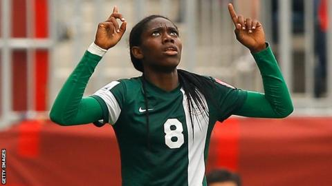 Oshoala Unveiled As Face Of 2016 Women's Federation Cup
