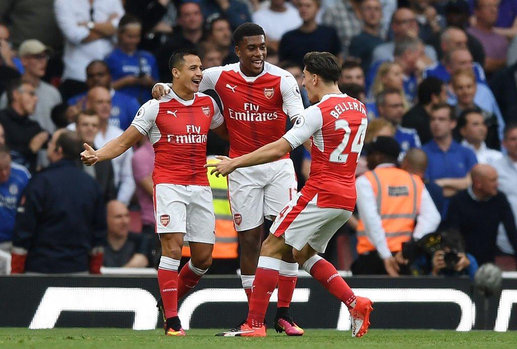 Sanchez Beats Iwobi, Walcott To Arsenal's September Award